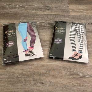 BNWT Girls Storybook Legging Bundle